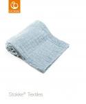 Stokke® Deken Muslin Organic Cotton Blue Slate Sea  100 x 100 cm