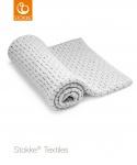 Stokke® Deken Light Grey Merino Wool  80 x 80 cm