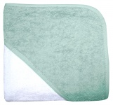 Babydump Collectie Babycape Wit / Mist Green