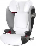 Cybex Autostoelhoes Zomer White Pallas S-Fix / Solution S-Fix