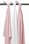 Meyco Swaddles Knitted Heart 3Pack