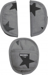 Dooky Universele Pads Grey Stars