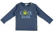 Babylook T-Shirt Dude Faded Denim