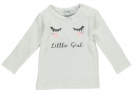 Babylook T-Shirt Girl White