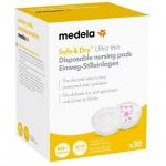 Medela Wegwerp Zoogcompressen Ulta Thin Safe&Dry (30 stuks)