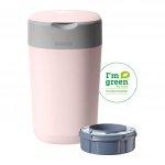Tommee Tippee Sangenic Luieremmer Twist&Click Pink Inclusief 1 Navulling