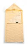 KipKep Blenker Hydrofiele Badcape Indian Wig Golden Sunset Geel