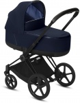 Cybex Priam Combi Matt Black/Black Indigo Blue/Navy Blue