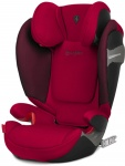 Cybex Solution S-Fix Scuderia Ferrari Racing Red/Red