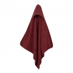 Little Dutch Badcape Pure Indian Red  75 x 75 cm