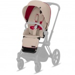 Cybex Priam Seat Pack Premium Scuderia Ferrari Silver Grey/Light Grey
