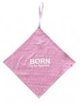 Born To Be Famous Speendoekje Roze Print