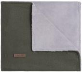 Baby's Only Ledikantdeken Teddy Classic Khaki 100 x 135 cm