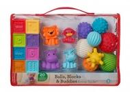 Infantino Sensory Ball Block Buddies
