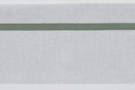 Meyco Ledikantlaken Bies Forest Green 100 x 150 cm