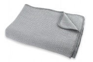 Ledikantdeken Zomer Pique Mid Grey 100 x 150 cm