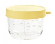 Beaba Portion Glas Yellow 150ml