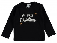 Babylook T-Shirt Christmas Black