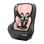 Nania Eco Maxim SP Shadow Grey Inclusief Custo Insert Star Pink