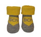 Babylook Sokjes Boy Yellow