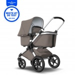 Bugaboo Fox Complete Set Mineral Collection Aluminium Frame / Taupe Bekledingset