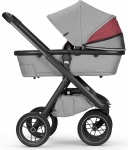 Dubatti One E3 C-Line Kinderwagen 2-in-1 Cherry