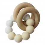 Chewies & More Basic Rattle Navaho/Wit Gritt