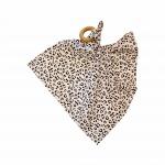 Chewies & More Knuffeldoekje Leopard Wit