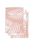 Jollein Hydrofiele Washandjes Nature Pale Pink 3pck