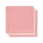 Jollein Monddoek Pale Pink 3-Pack