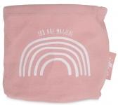 Jollein Canvas Verzorgingsmandje Rainbow Blush Pink