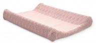 Jollein Aankleedkussenhoes River Knit Pale Pink