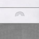 Jollein Laken Rainbow Grey 120 x 150 cm