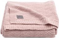 Jollein Ledikantdeken River Knit Pale Pink   100 x 150 cm