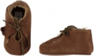 XQ Little Shoes Schoen Leather Cognac