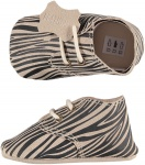 XQ Little Shoes Schoen Leather Animal Zebra
