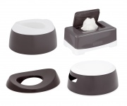 Luma Toilet Trainingsset Dark Grey
