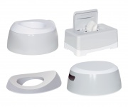 Luma Toilet Trainingsset Light Grey