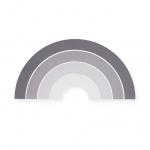Jollein Wandlamp Rainbow Grey