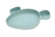 Lässig Bord Silicone Met Zuignap Little Chums Mouse Blue
