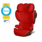 Cybex Solution Z i-Fix Autumn Gold/Burnt Red