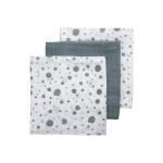 Meyco Hydrofiele Luiers 3pack  Dots Stonegreen