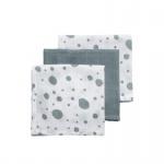 Meyco Hydrofiele Monddoekjes 3pack Dots Stonegreen