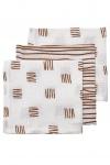Meyco Monddoek Block Stripe Camel 3-Pack
