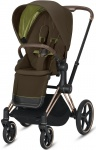 Cybex Priam Seat Pack Khaki Green/Khaki Brown