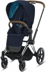 Cybex Priam Combi Chrome Brown/Chrome Nautical Blue/Navy Blue