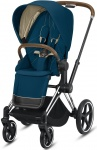 Cybex Priam Combi Chrome Brown/Chrome Mountain Blue/Turquoise