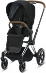 Cybex Priam Combi Chrome Brown/Chrome Deep Black/Black