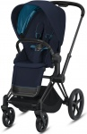 Cybex Priam Combi Matt Black/Black Nautical Blue/Navy Blue