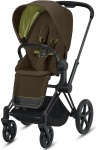 Cybex Priam Combi Matt Black/Black Khaki Green/Khaki Brown